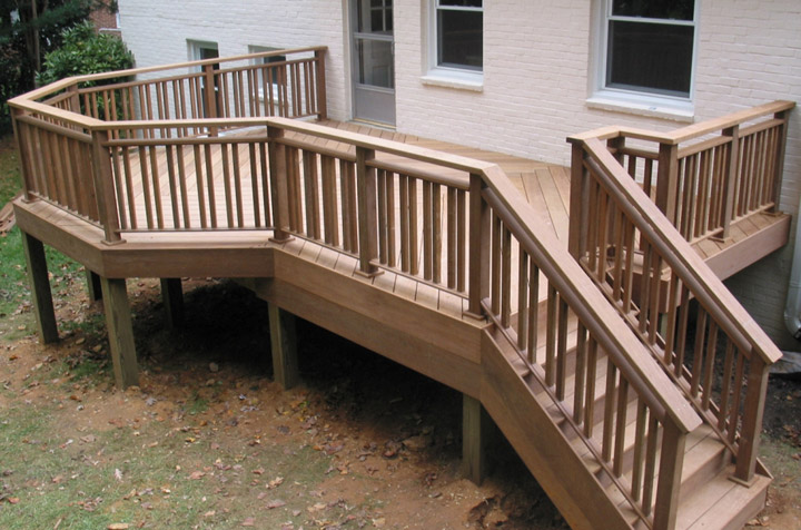 Ipe deck back porch