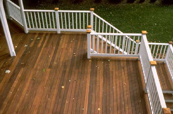 Outdoor Ipe decking